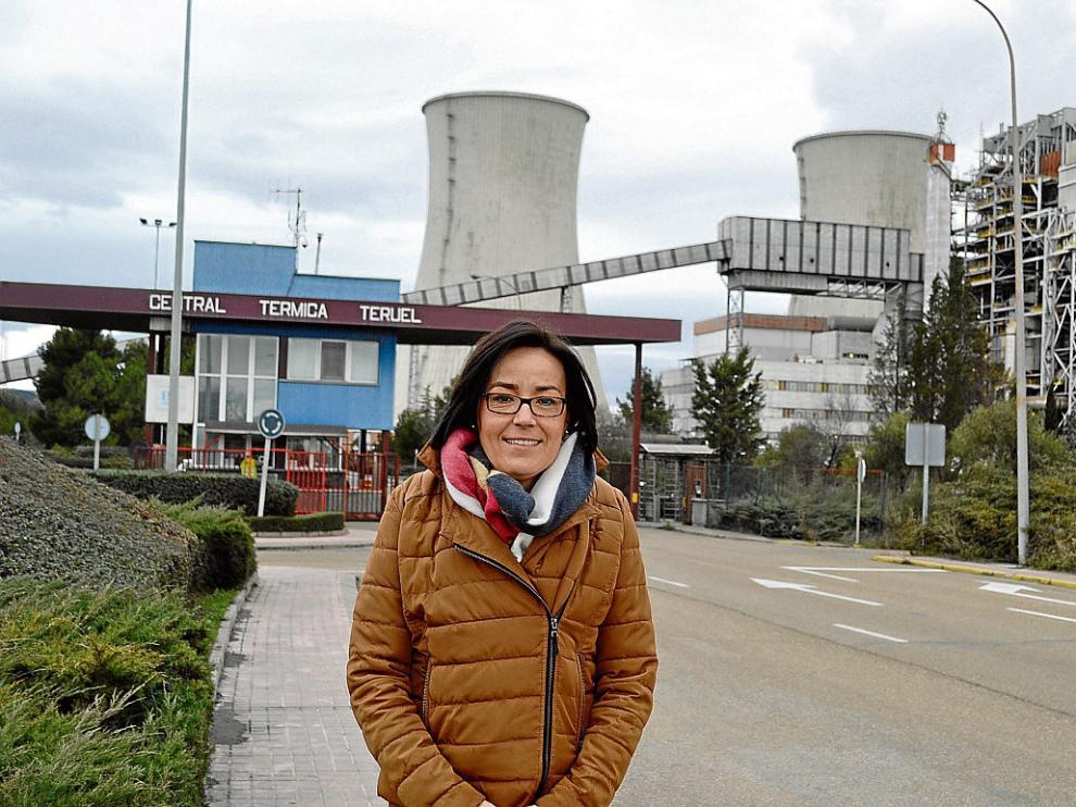 La alcaldesa de Andorra, Sofía Ciércoles (IU).