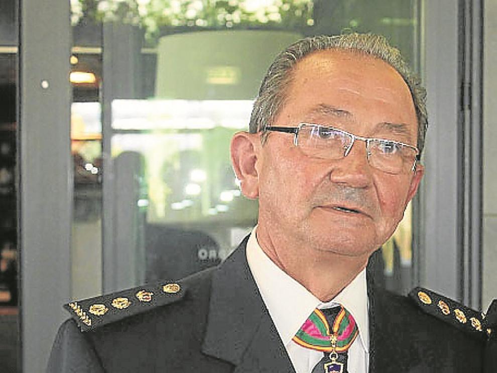 Fernando Oliván fue hasta el 23 de febrero jefe de la Unidad Adscrita del CNP en Aragón.