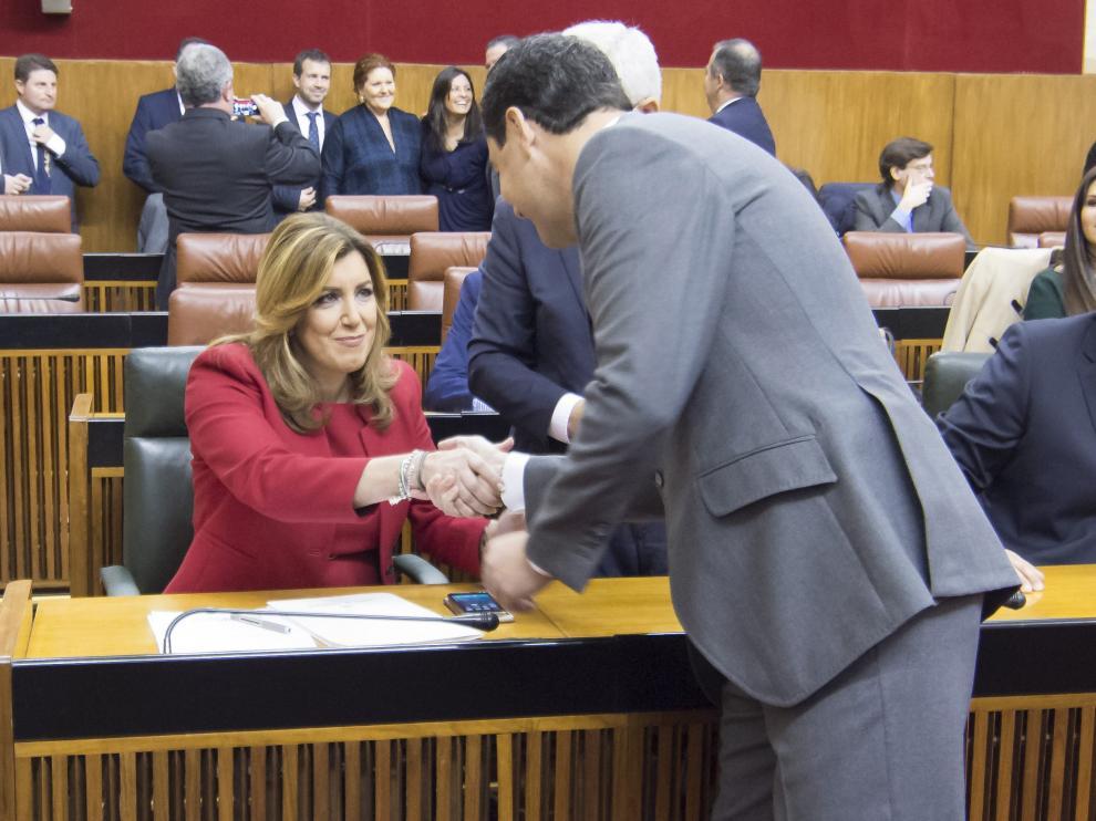 La presidente de Andalucía Susana Díaz
