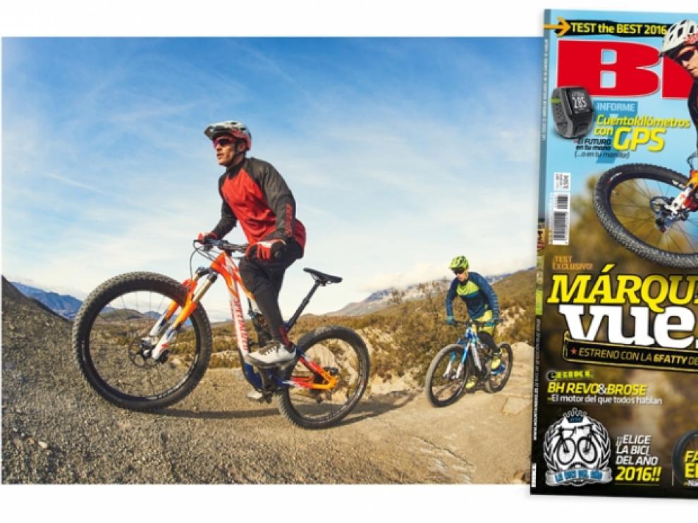 Los hermanos Márquez, invitados en el Pirineo oscense por la Revista Bike