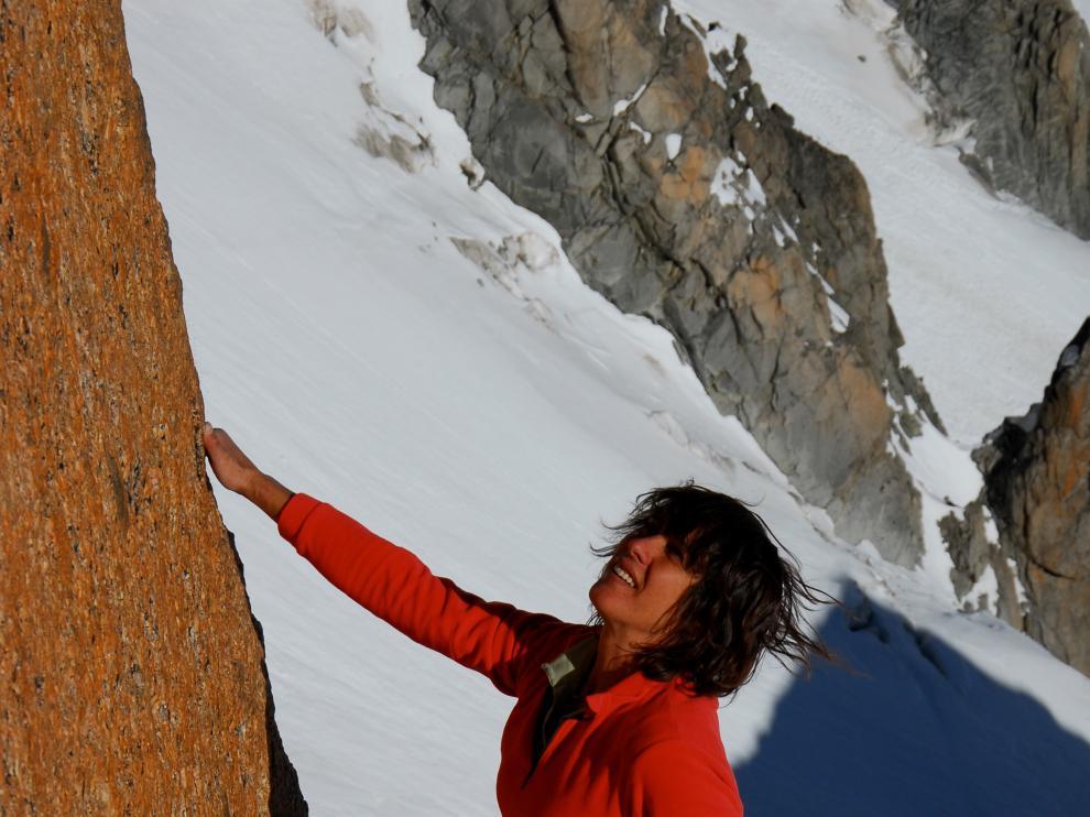 Catherine Destivelle, participará en el tour del Festival Banff en Huesca.