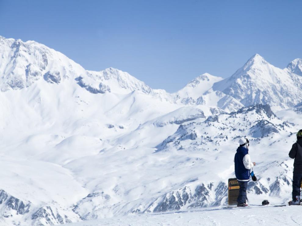 Imagen de la estación de esquí de Formigal, imagen de archivo.