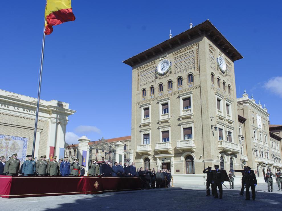 El general Luis Lanchares toma posesión de la dirección de la Academia General Militar