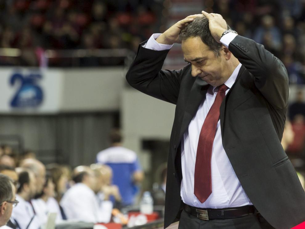 Andreu Casadevall, técnico del CAI Zaragoza.