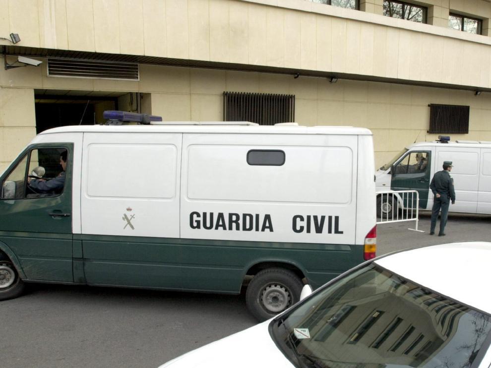 Exterior de la Audiencia Nacional.