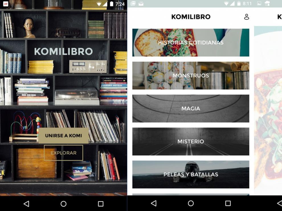 Komilibro, aplicación para buscar y recomendar libros impulsada desde Zaragoza