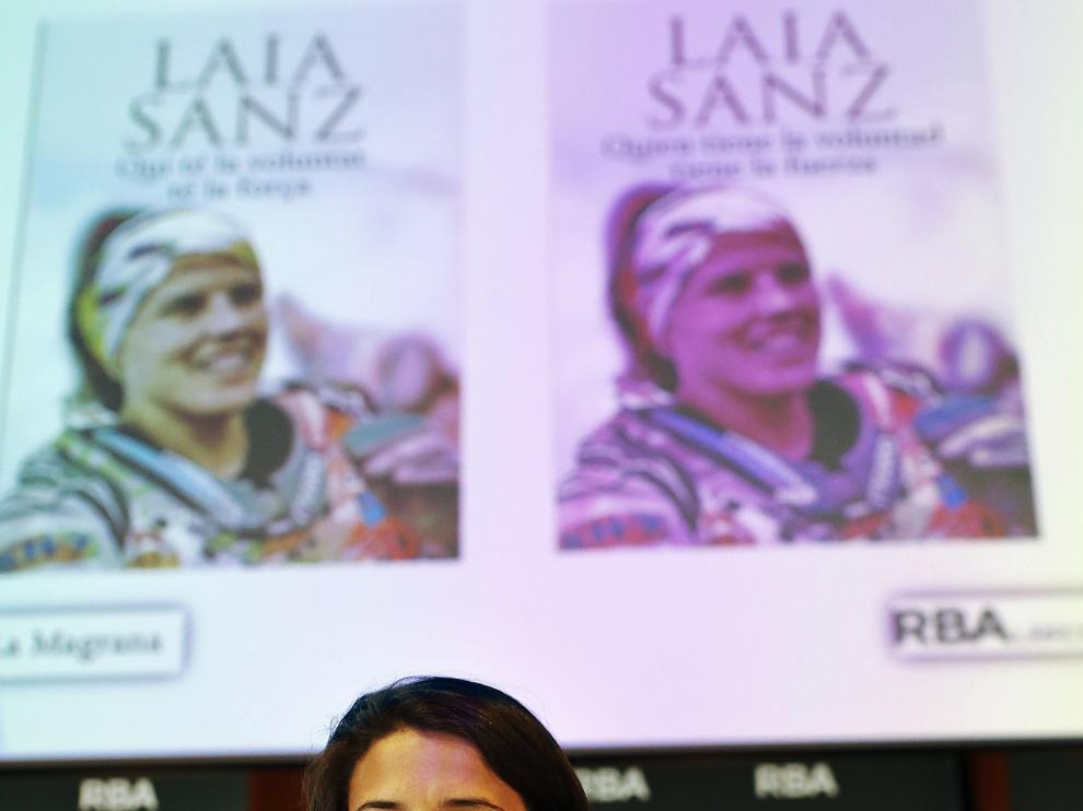 Laia Sanz presenta su libro