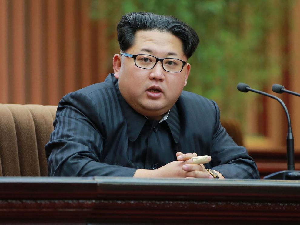 Kim Jong-un en una foto de archivo.