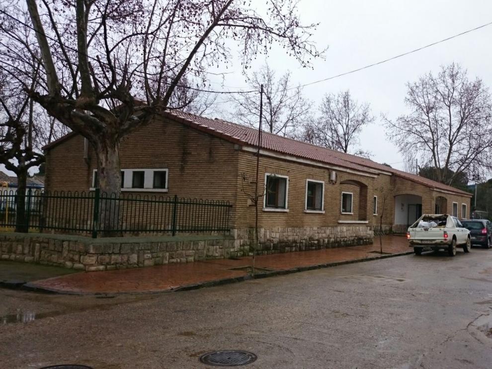 Colegio de Valareña, del CRA Luis Buñuel.