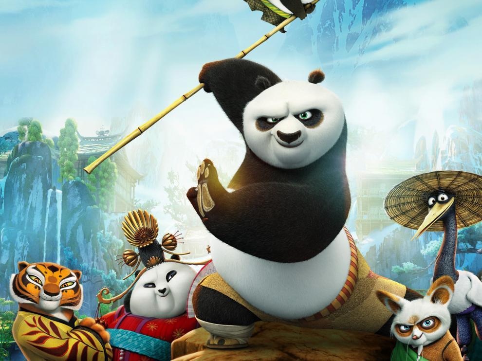 Imagen de 'Kung Fu Panda 3'.