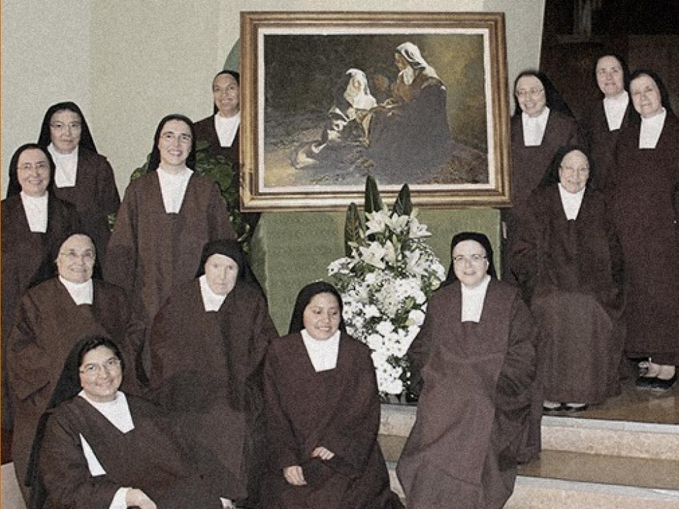 En el Monasterio de San José de Zaragoza siguen activas la mitad de las hermanas