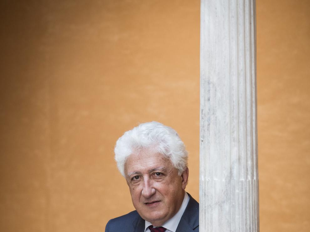 Fernando García Vicente, el Justicia de Aragón.