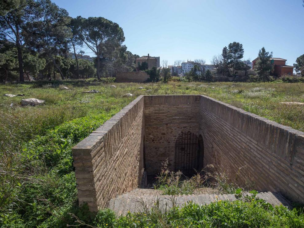 Depósitos del parque Pignatelli