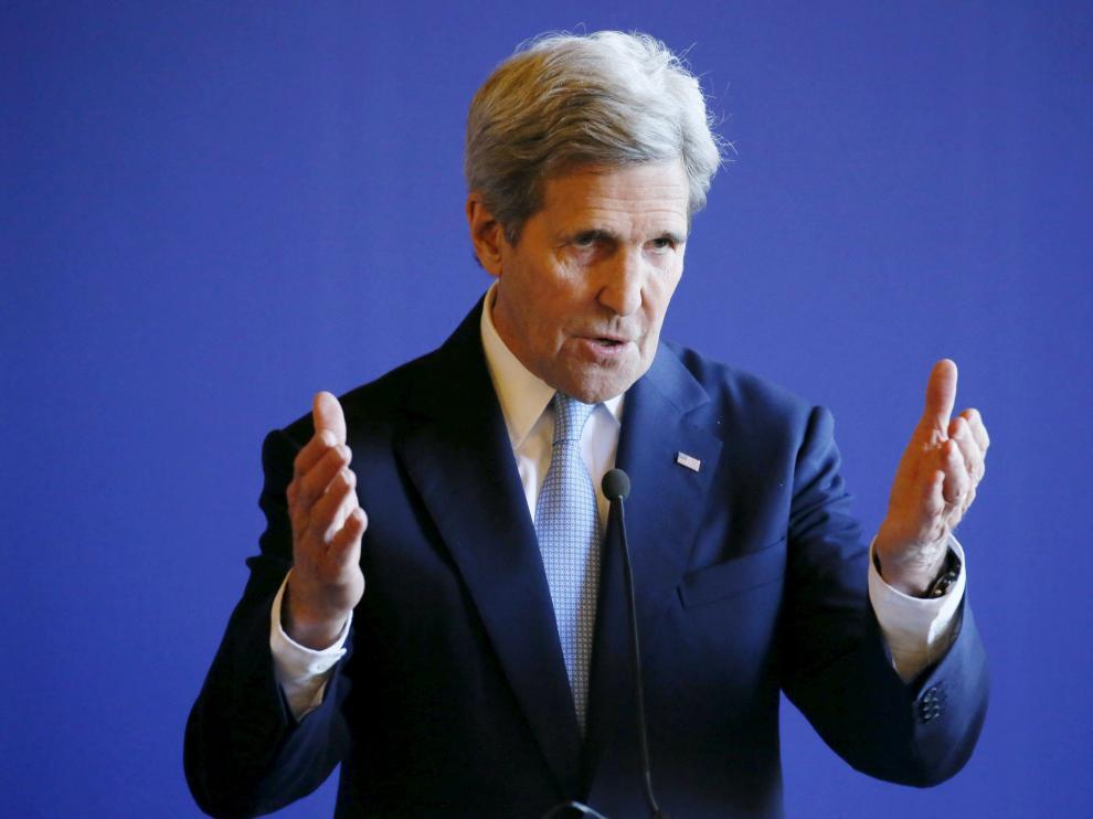 Kerry en París.