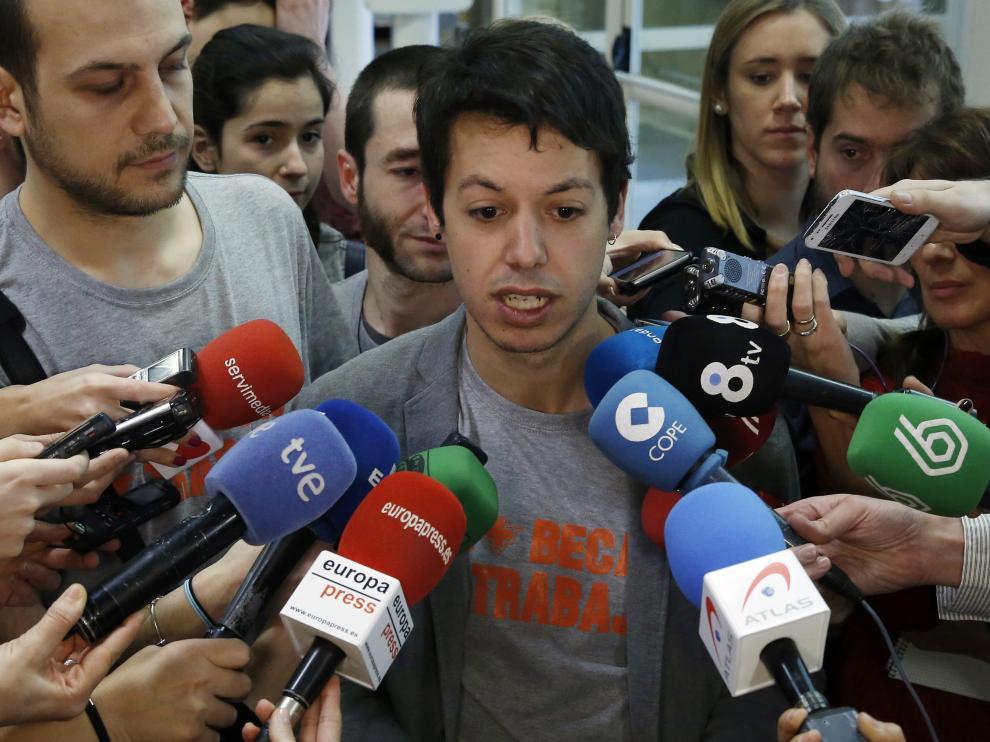 Segundo González, portavoz de Presupuestos de Podemos en el Congreso.