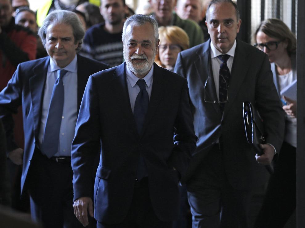 Griñán, camino del tribunal