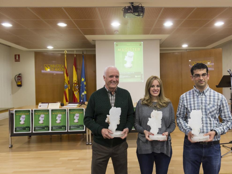 ?Los Centros de Innovación y Formación del Profesorado de Aragón y tres maestros reciben los galardones.