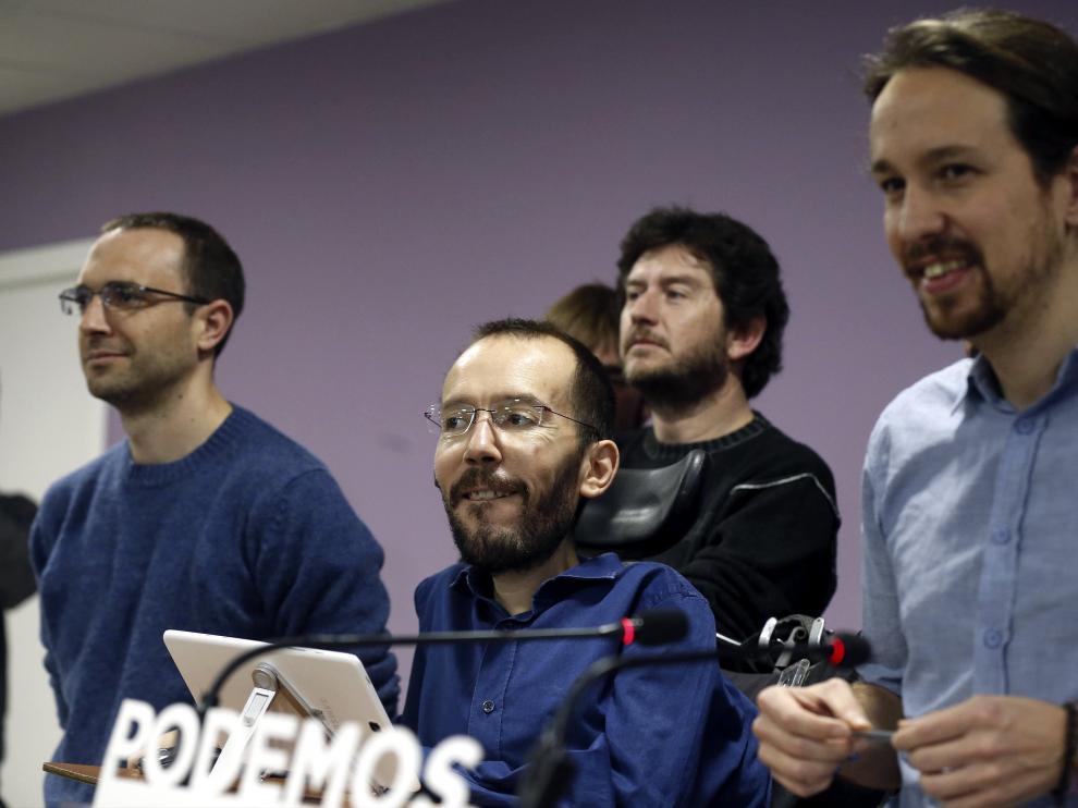Este sábado se ratifica la propuesta de Echenique como 'número 3' de Podemos.