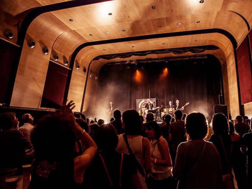 Un concierto en Las Armas de Zaragoza, en una imagen de archivo.
