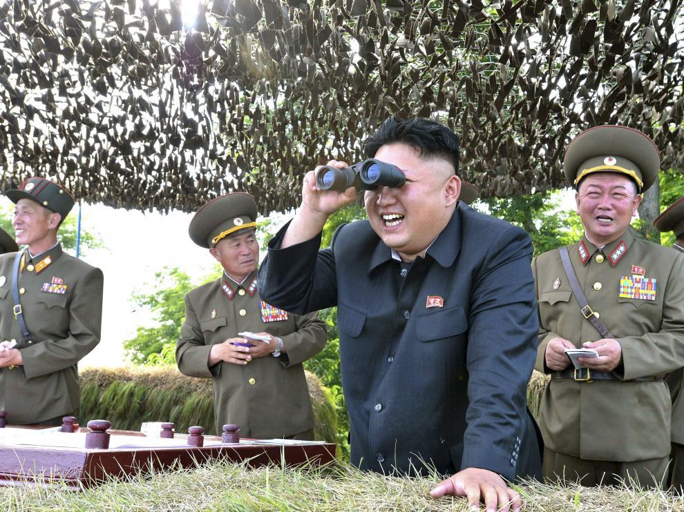 Imagen de archivo de Pyongyang.