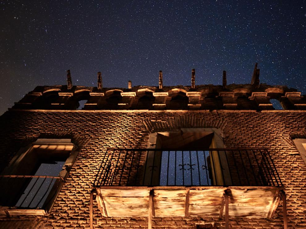 El fotógrafo Luis Simón Aranda retrata el Belchite Viejo