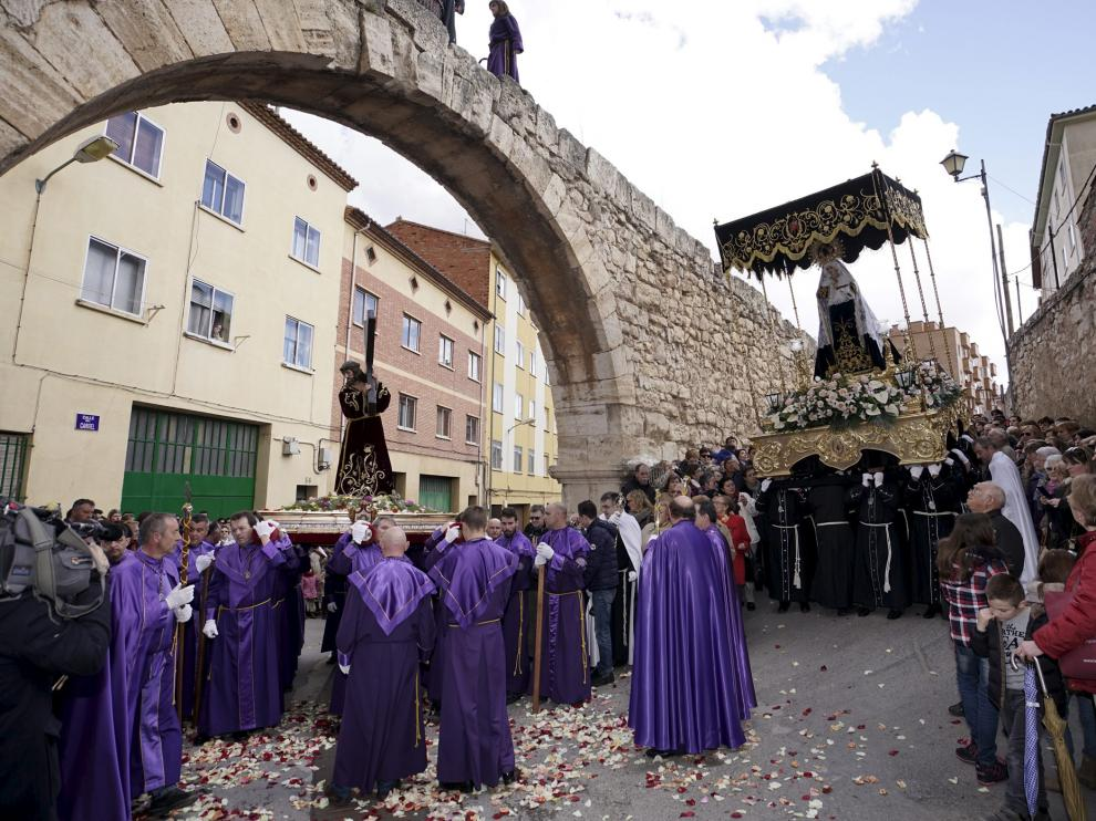 Procesión del Encuentro en Teruel