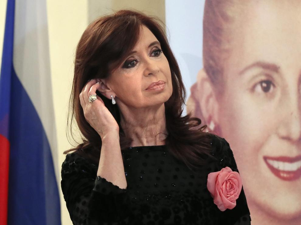 ?Cristina Fernández.