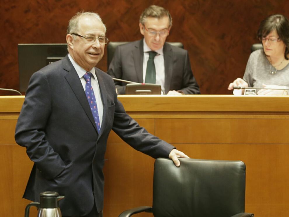 El consejero de Hacienda, Fernando Gimeno