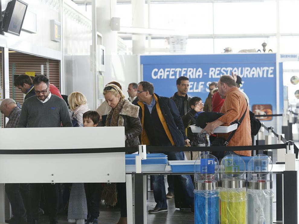 Aeropuerto de Zaragoza, en una foto de archivo.
