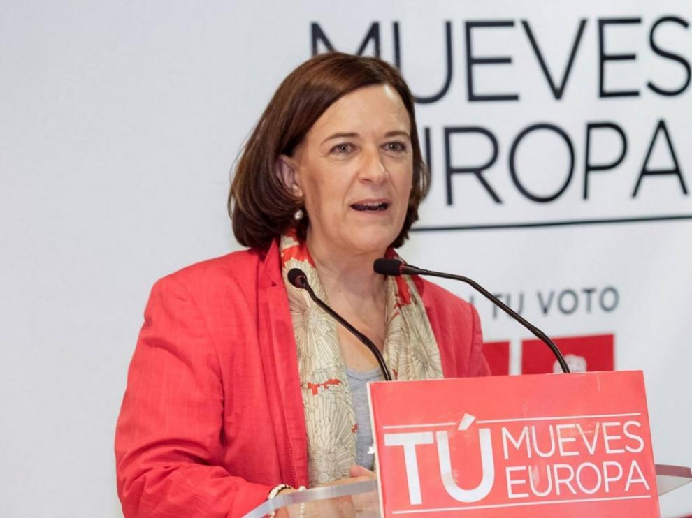 La eurodiputada aragonesa Inés Ayala.