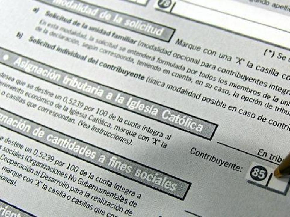 Impreso para para declararar el Impuesto sobre la Renta de las Personas Físicas.
