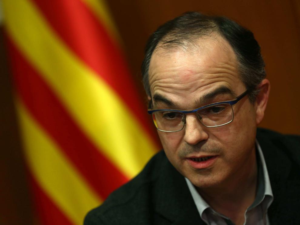 El consejero de Presidencia y portavoz del Gobierno catalán, Jordi Turull.
