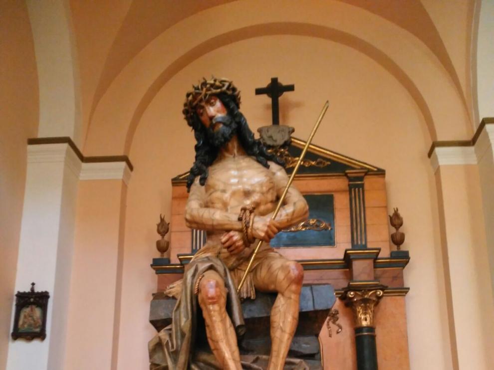 La Cofradía del Ecce Homo celebró los 50 años procesionando con su talla titular.