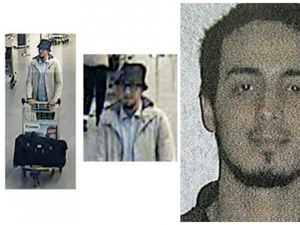 El tercer sospechoso, identificado como Najim Laachraui.