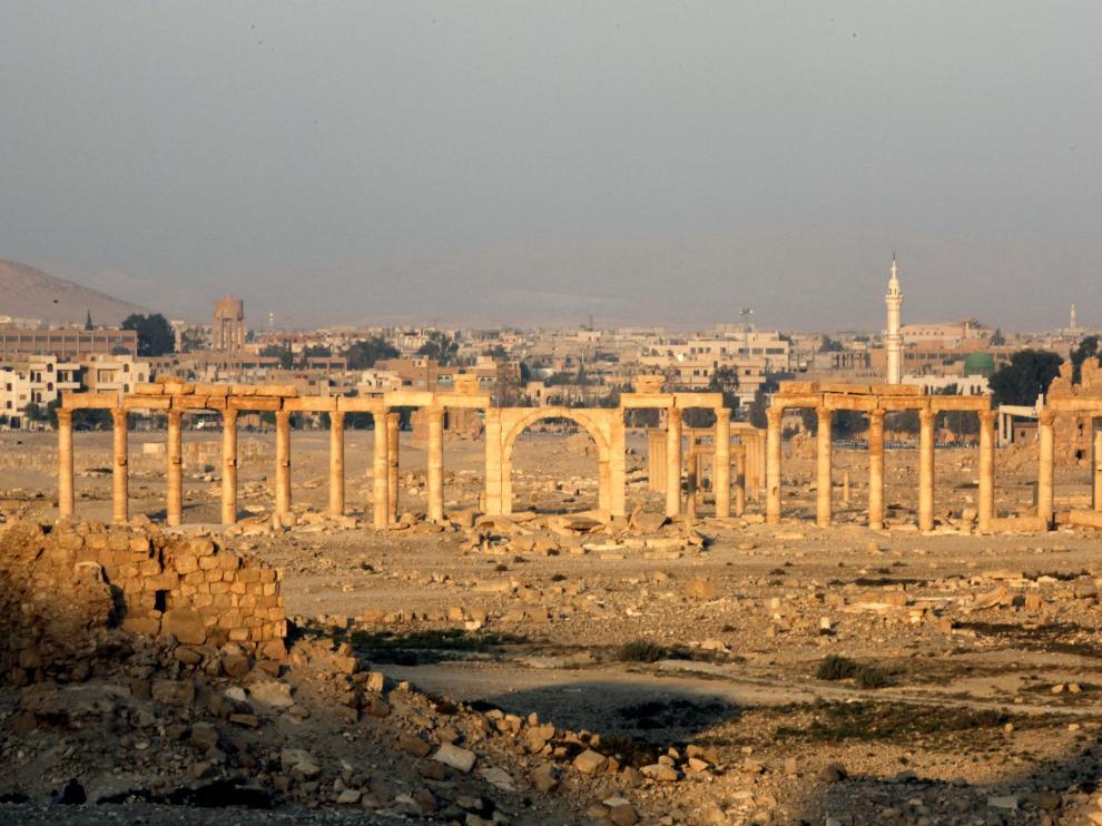 Ruinas de Palmira, en Siria.