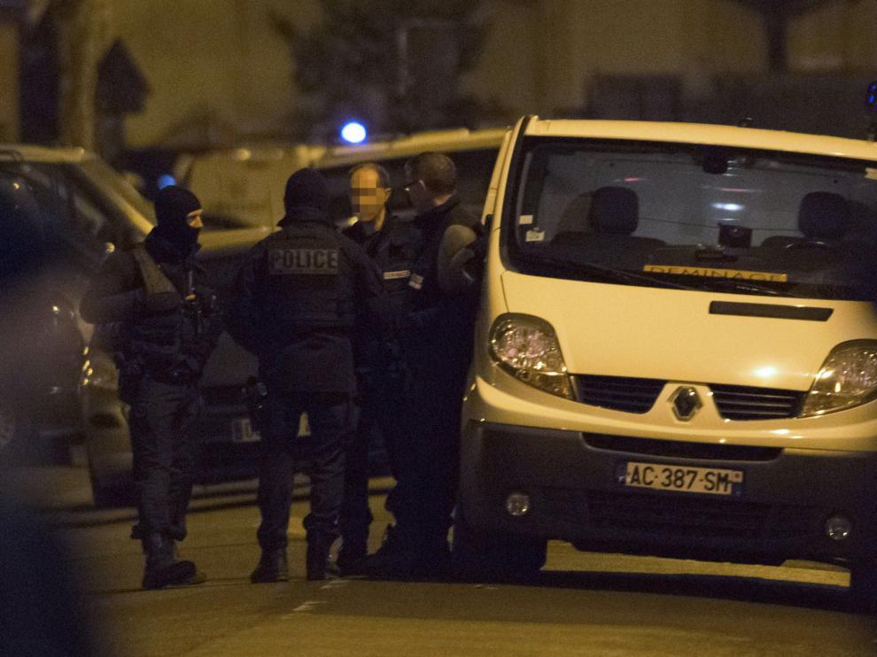 Operación desarrollada en Argenteuil.