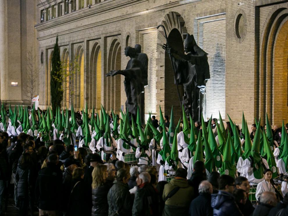 La procesión Santo Entierro en una imagen de archivo.