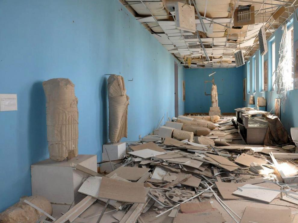 Tras evaluar los destrozos, la Unesco diseñará un plan integrado para comenzar la rehabilitación de Palmira.