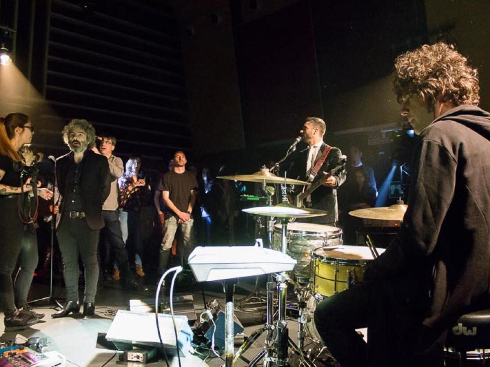Grabación del videoclip de León Benavente