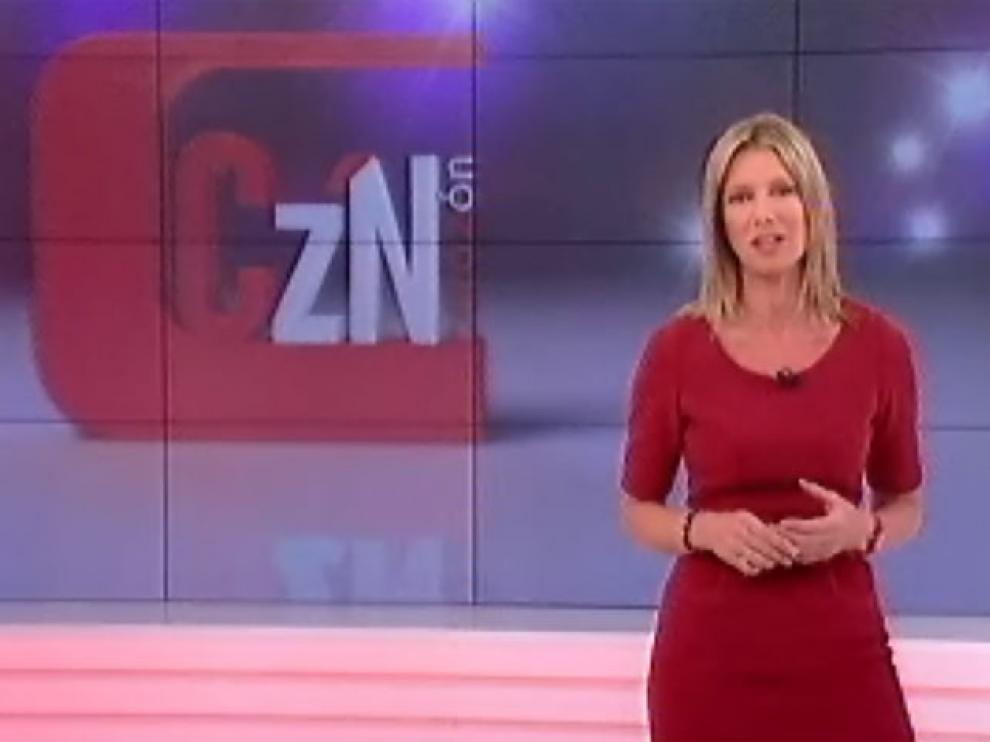 La presentadora Anne Igartiburu en el programa 'Corazón' de TVE.
