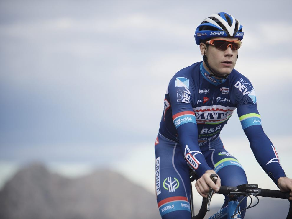 Imagen de archivo del ciclista fallecido Antoine Demoitie.