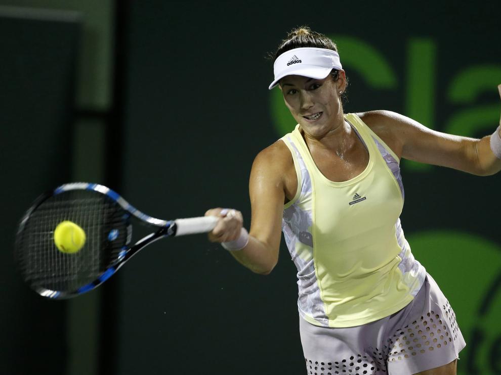 muguruza repite su mejor actuación en este torneo del circuito Premier de la WTA.