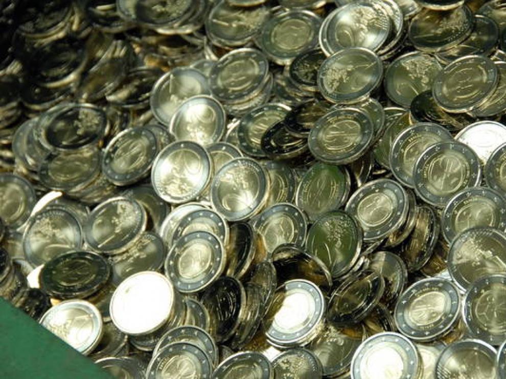 El salario medio en Aragón es de 1.544 euros mensuales.