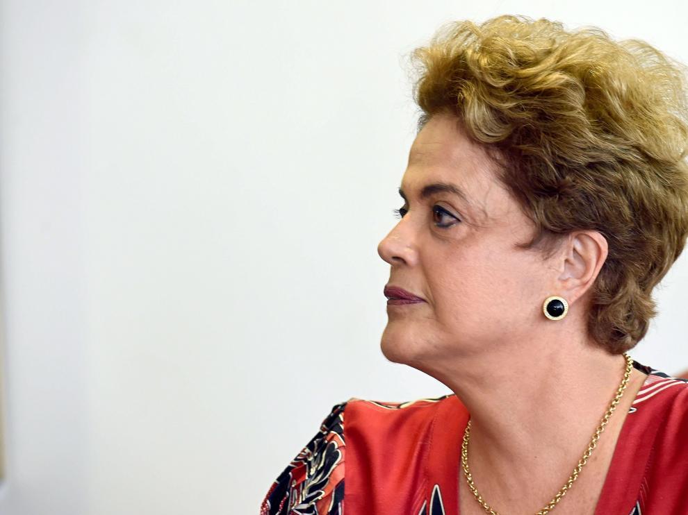 La presidenta Dilma Rousseff en una imagen de archivo.