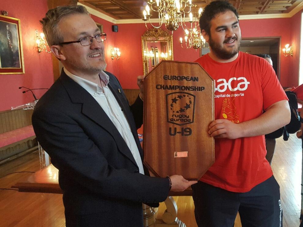 Concentración de la selección española de rugby U20 en Jaca