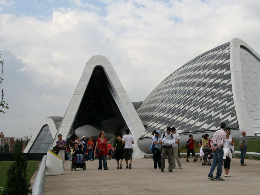 El Pabellón Puente, una de las obras más emblemáticas de la Expo