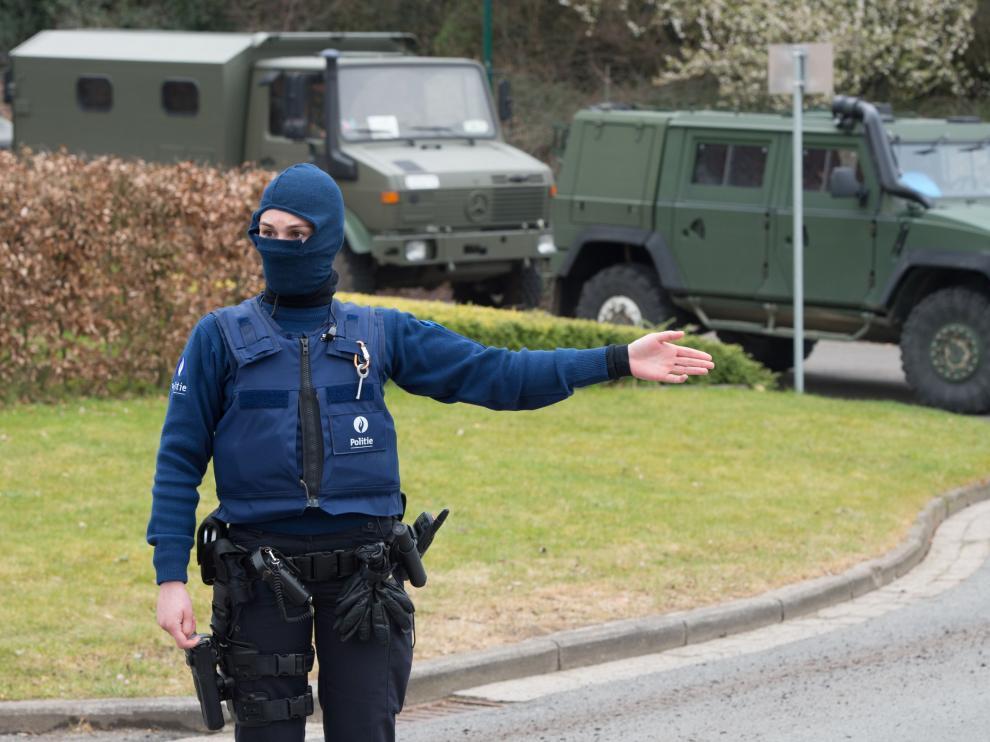 Imágenes de la operación policial vinculada al presunto terrorista que planeaba un ataque en París.