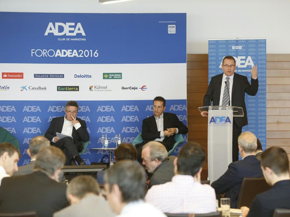 Intervención de Eduardo Navarro, director general comercial digital de Telefónica, en el desayuno de ADEA.