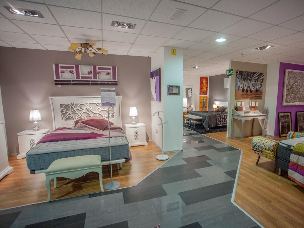 Dormitorio de Novedades Delicias.