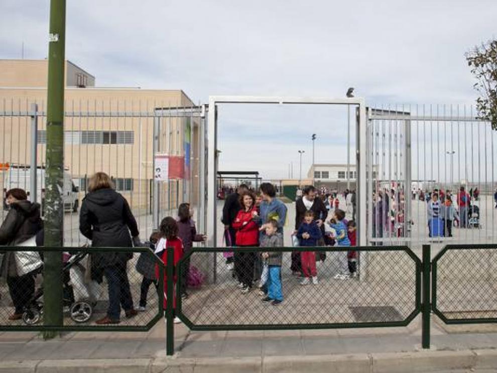 Colegio Valdespartera, uno de los más solicitados.